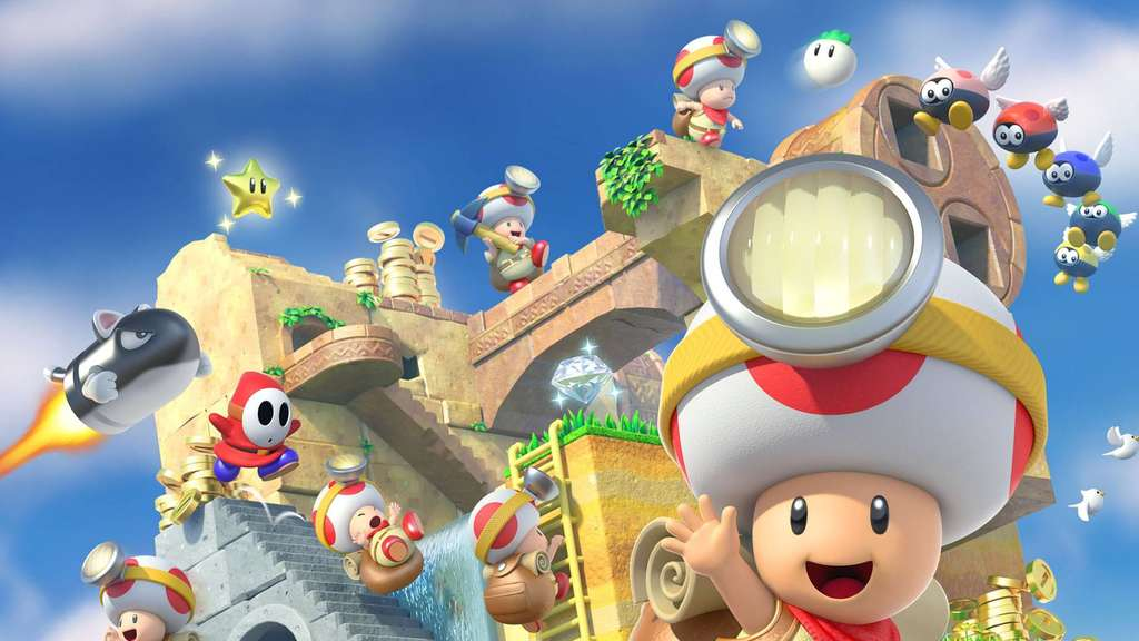 Test: Captain Toad - Treasure Tracker