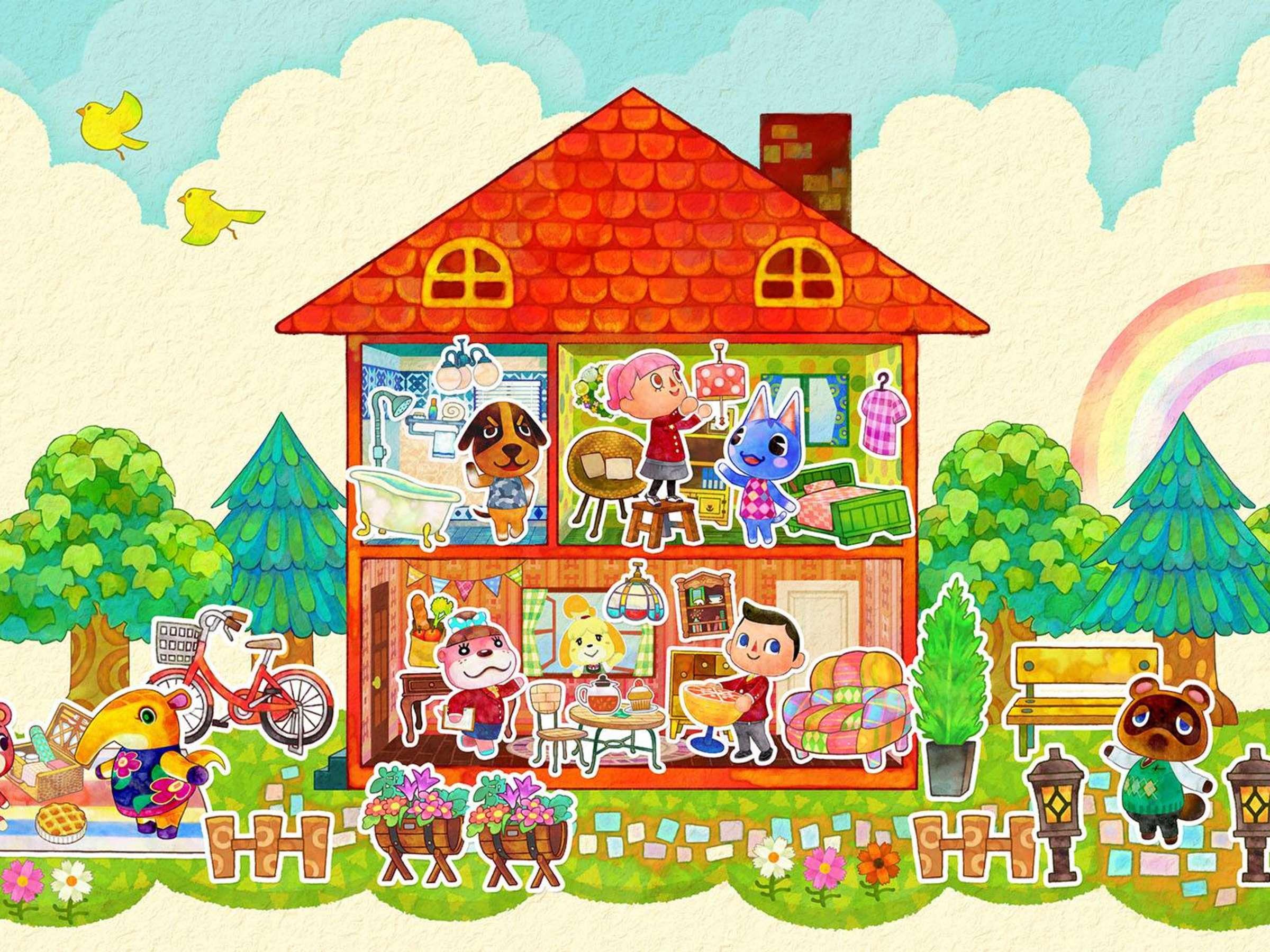 Test Animal Crossing Happy Home Designer   Tests