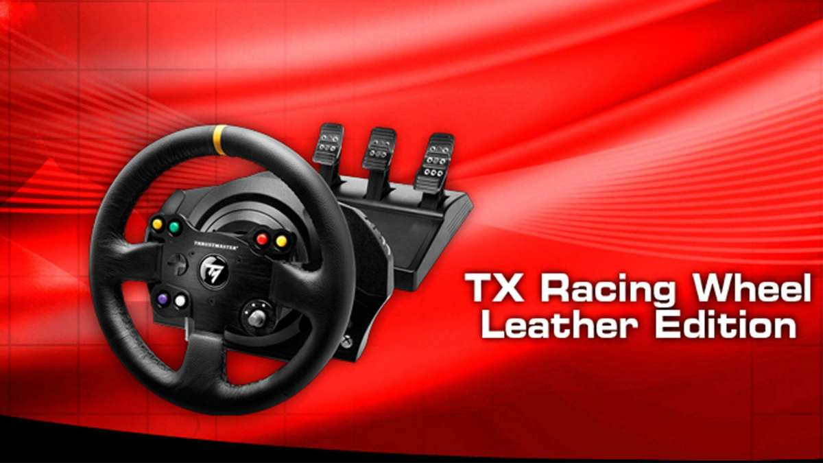test thrustmaster tx racing wheel leather edition tests. Black Bedroom Furniture Sets. Home Design Ideas