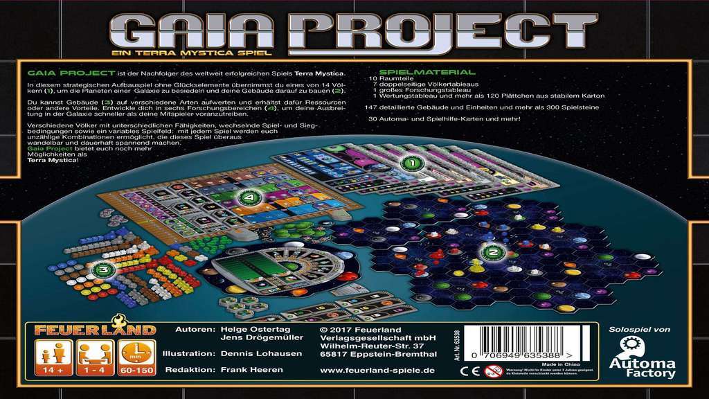 Test: Gaia Project