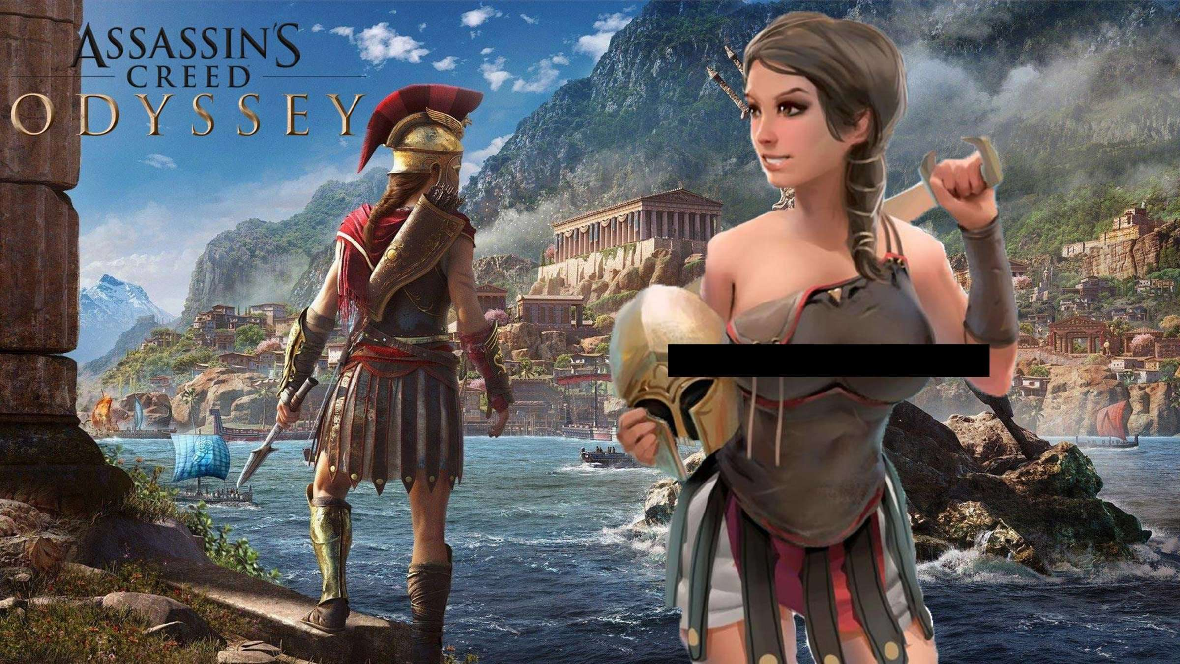 Assassins creed odyssey kassandra nackt