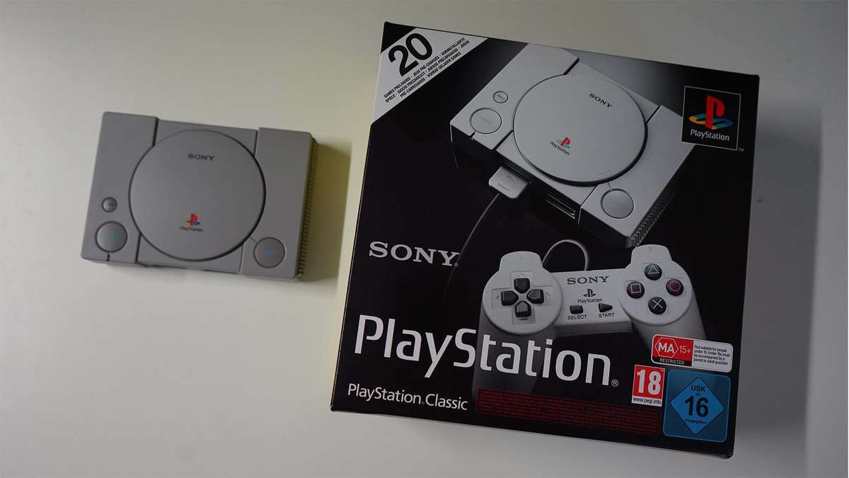 Test: PlayStation Classic   Hardware