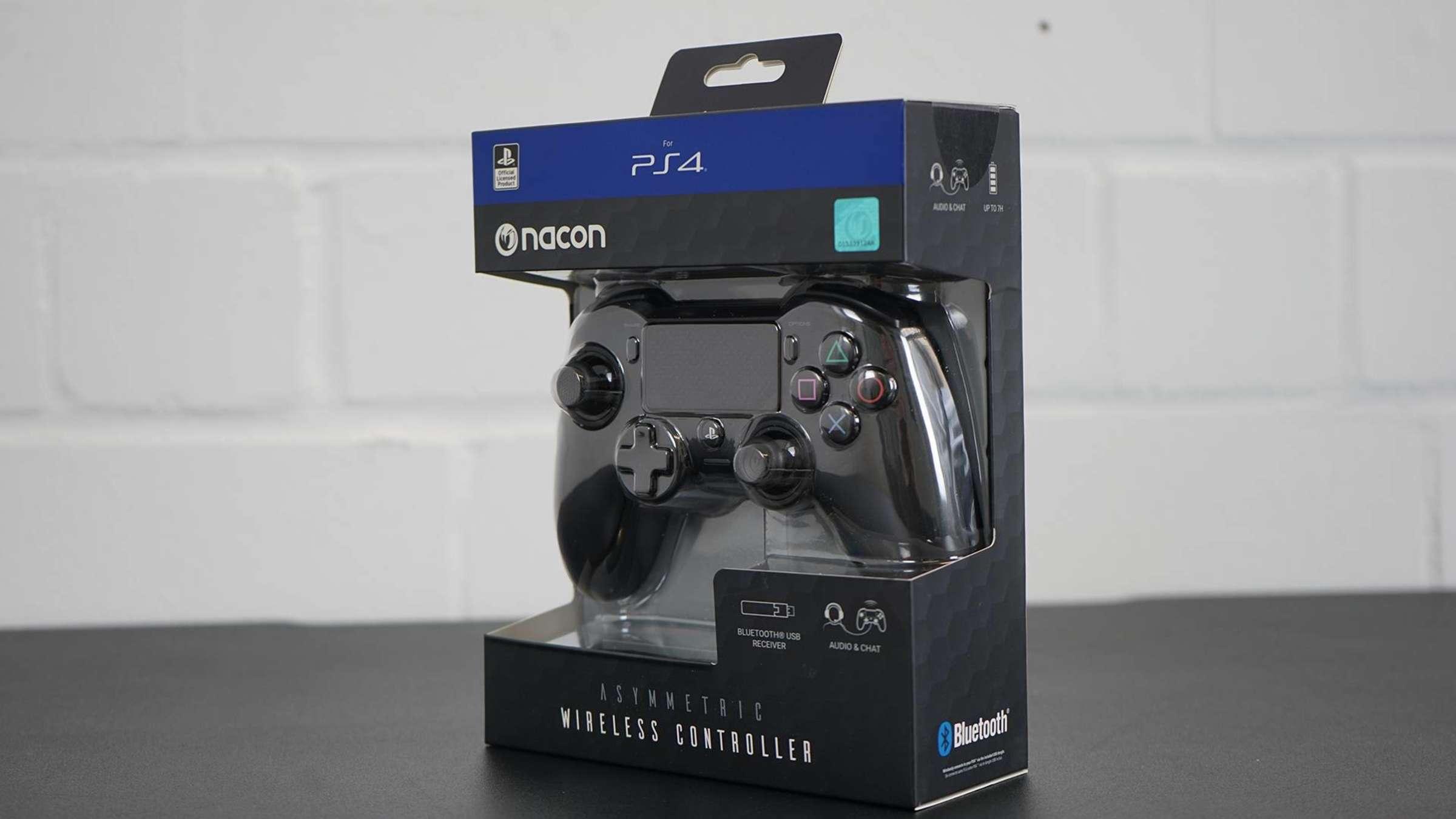 Nacon Asymmetric Wireless Controller PS4 im Test: Besser als der Dualshock  4?
