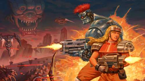 Blazing Chrome im Test: Die volle Packung Retro