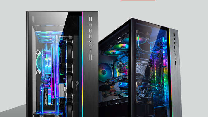 Lian Li O11Dynamic XL ROG Certified Dual-Chamber-Midi-Tower für Enthusiasten