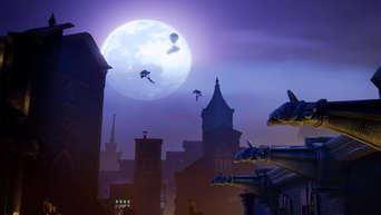 where is the bat signal in fortnite