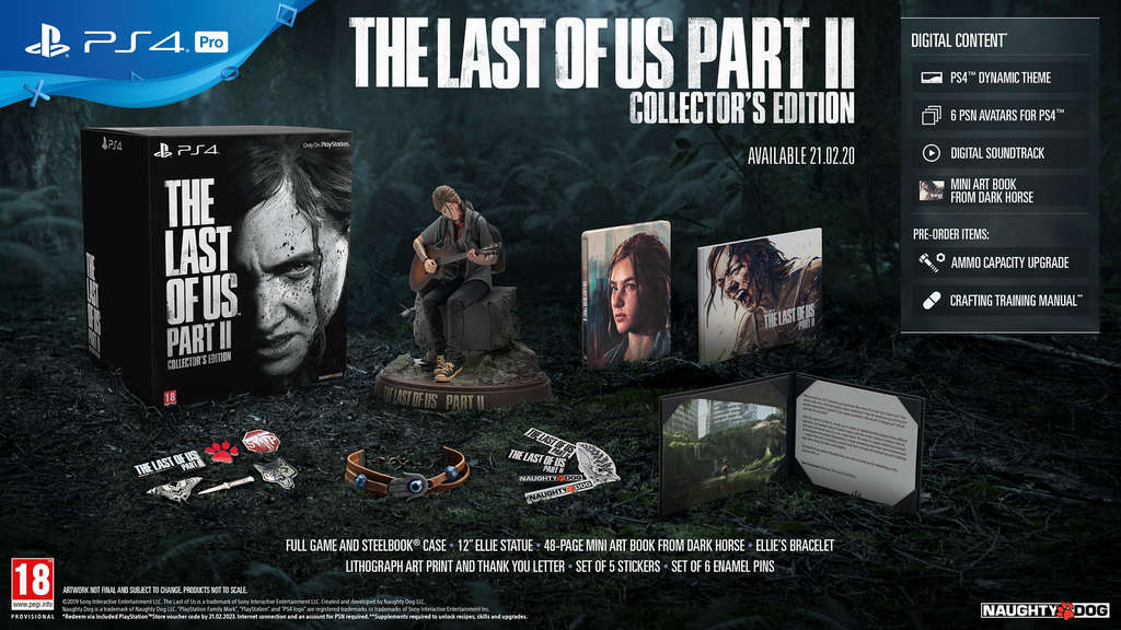 sony-playstation4-ps4-playstation-collectorsedition-edition-thelastofus-thelastofus2-tlfu-naughtydog