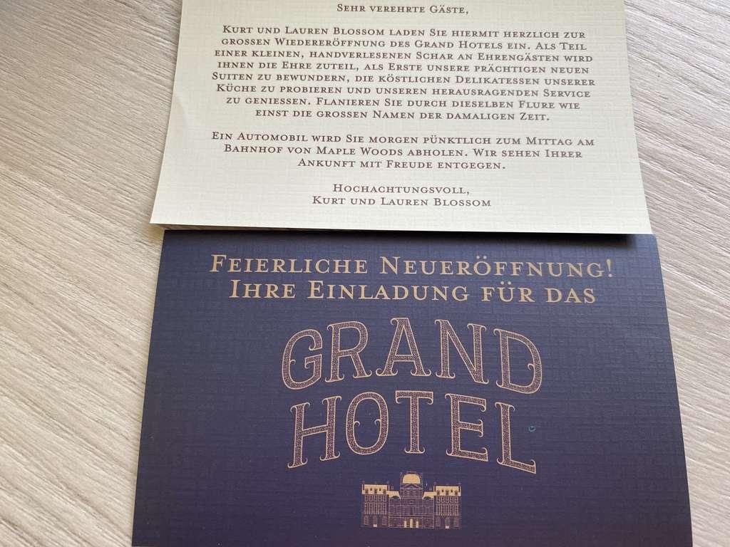 Das Geheimnisvolle Grand Hotel Im Test Ratselknacken Mit Stil Brettspiele