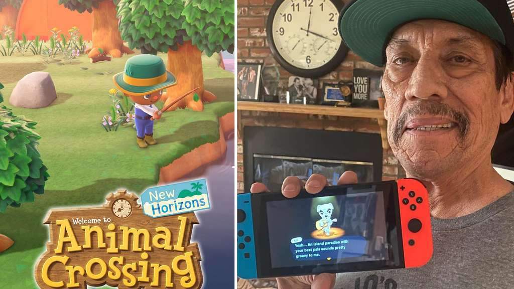 Animal Crossing New Horizons: Hollywood-Brutalo zeigt seine kreative Seite