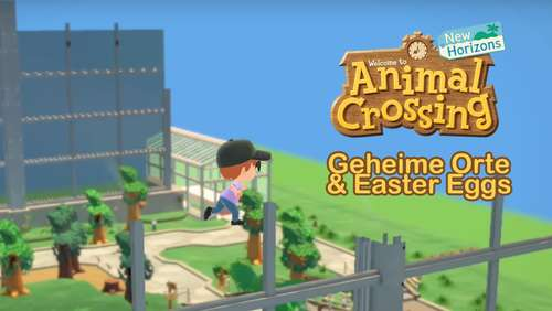 Animal Crossing New Horizons: Video enthüllt geheime Orte der Insel