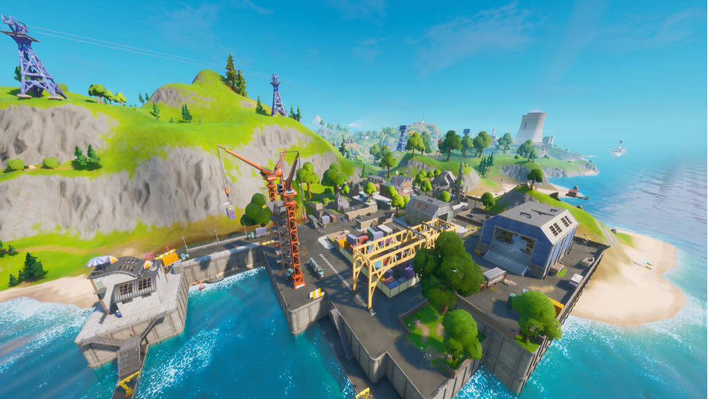 fortnite epic games dirt docks wasser map