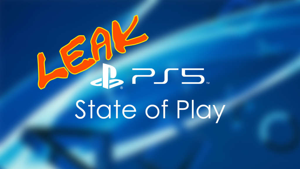 Sony State of Play PS5 PlayStation 5 Next-Gen-Konsole Event Leak
