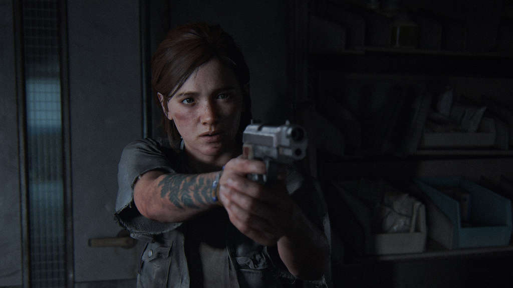 The Last of Us 2 Update Ellie Pistole Waffe Grounded-Modus Permadeath Naughty Dog