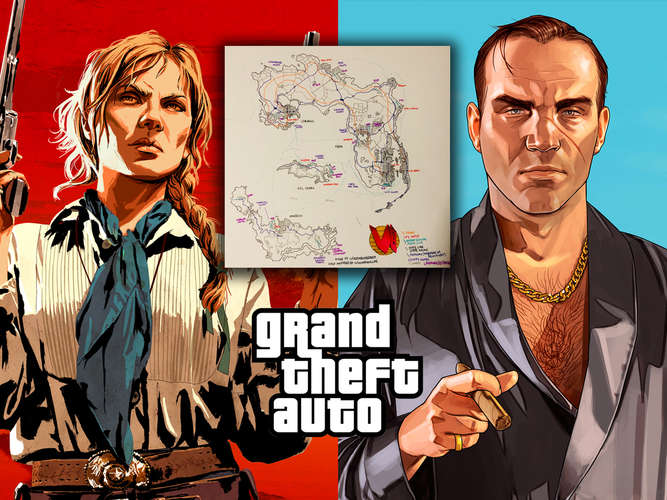 GTA 6: Map zeigt Red Dead Redemption-Crossover - Fans lieben die Karte