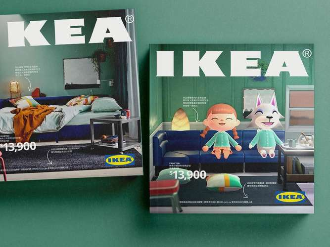 Animal Crossing New Horizons im IKEA-Katalog - Was macht Tom Nook denn da?