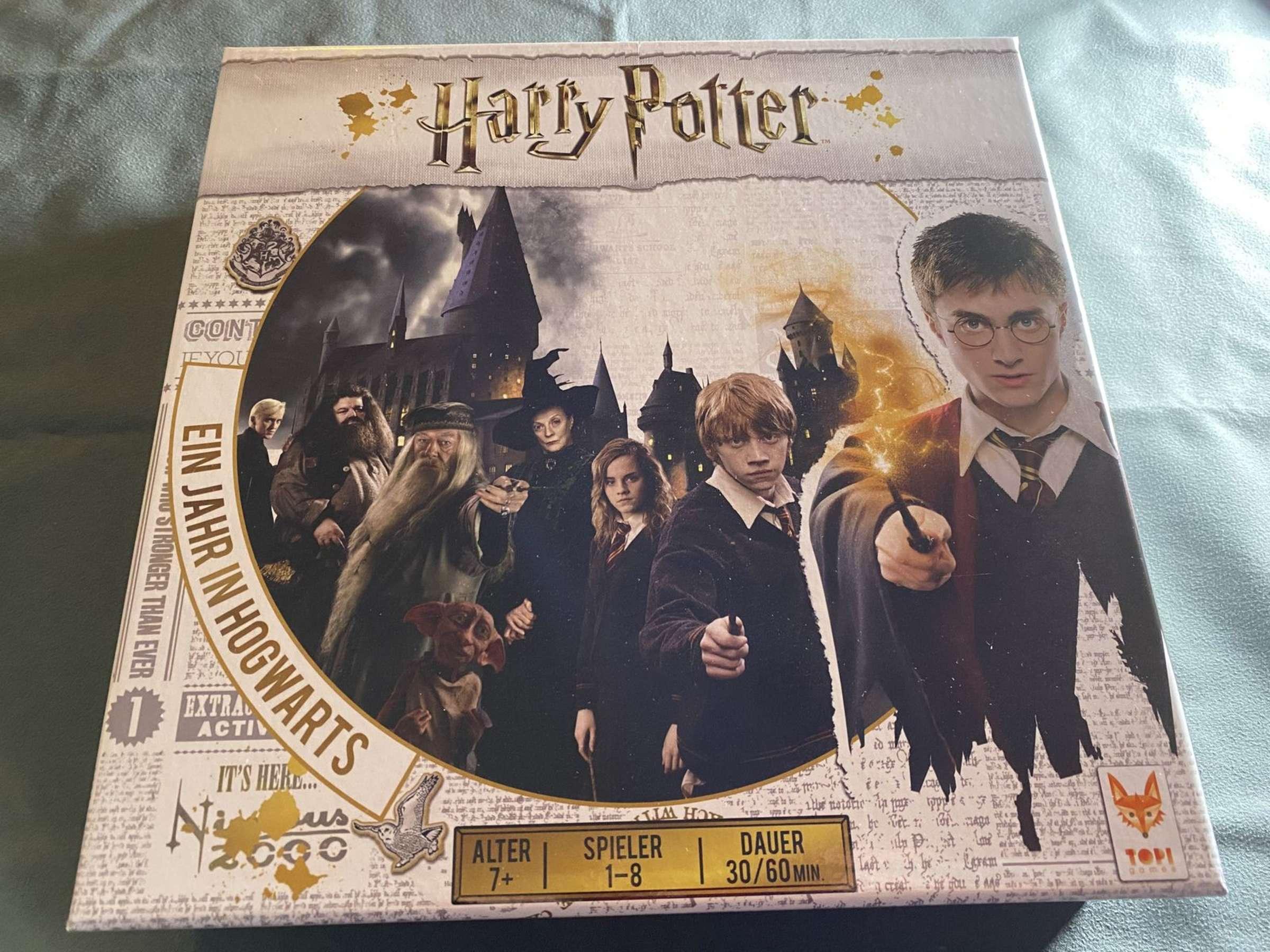 Harry Potter Ein Jahr In Hogwarts Im Test Das Brettspiel Fur Echte Potterheads Brettspiele