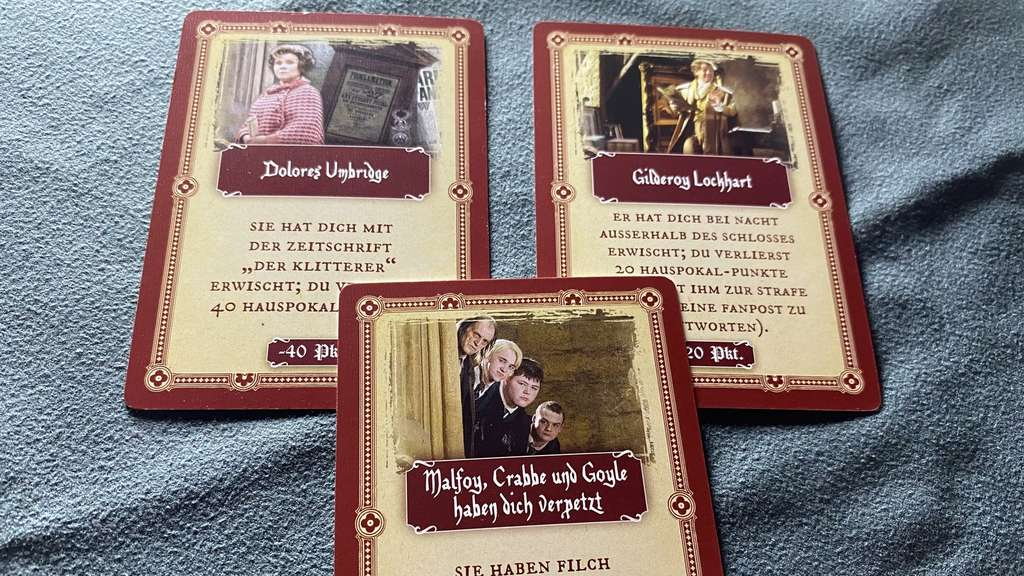 Harry Potter Ein Jahr in Hogwarts Dolores Umbridge Lockhart Malfoy