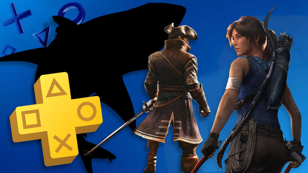 PS Plus Maneater Tomb Raider Greedfall Sony