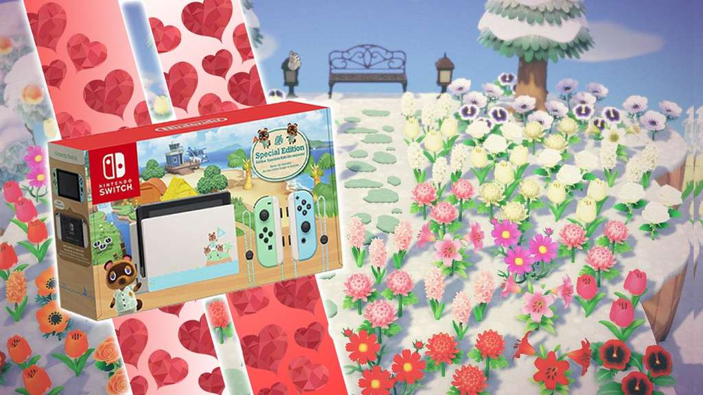 Animal Crossing New Horizons Nintendo Switch Edition Valentinstag Gewinnspiel