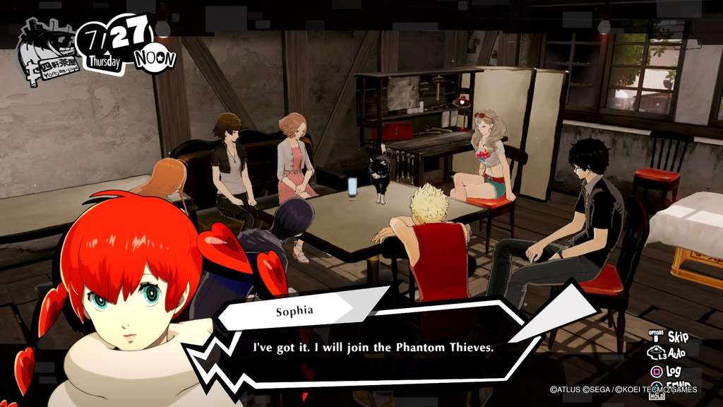 Sophia Persona 5 Strikers