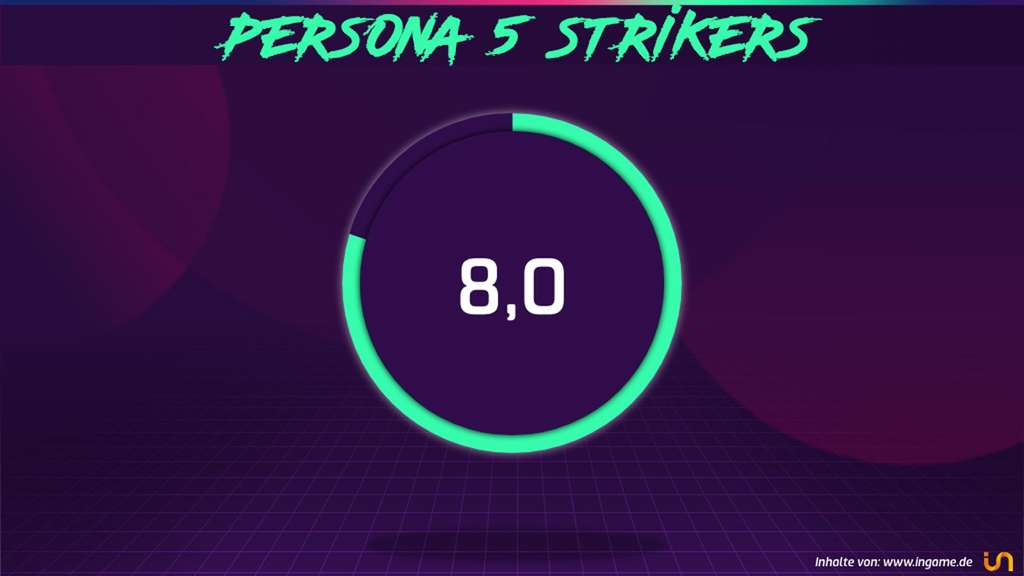 persona 5 strikers test wertungsgrafik ingame