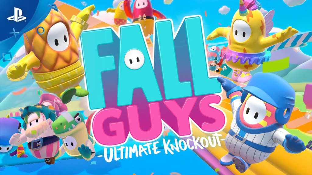 fall guys ultimate knockout playstation sony