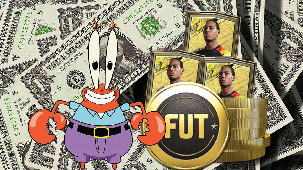 Mr Krabs FIFA Coins Packs
