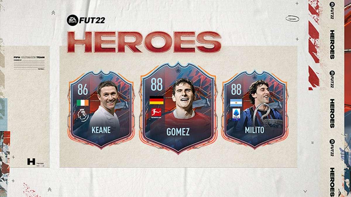 FIFA 22: FUT Heroes – EA bringt spannende Konkurrenz zu Icons