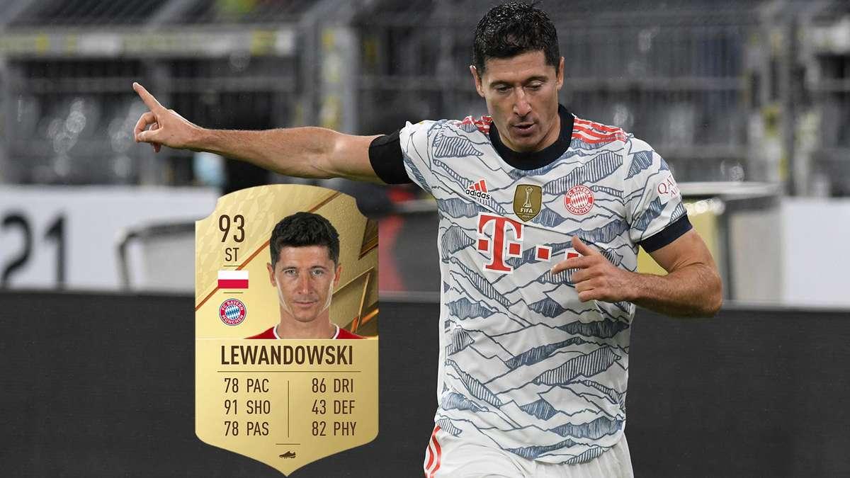 FIFA 22: Lewandowski bester FUT-Spieler – Leak lässt Followers spekulieren