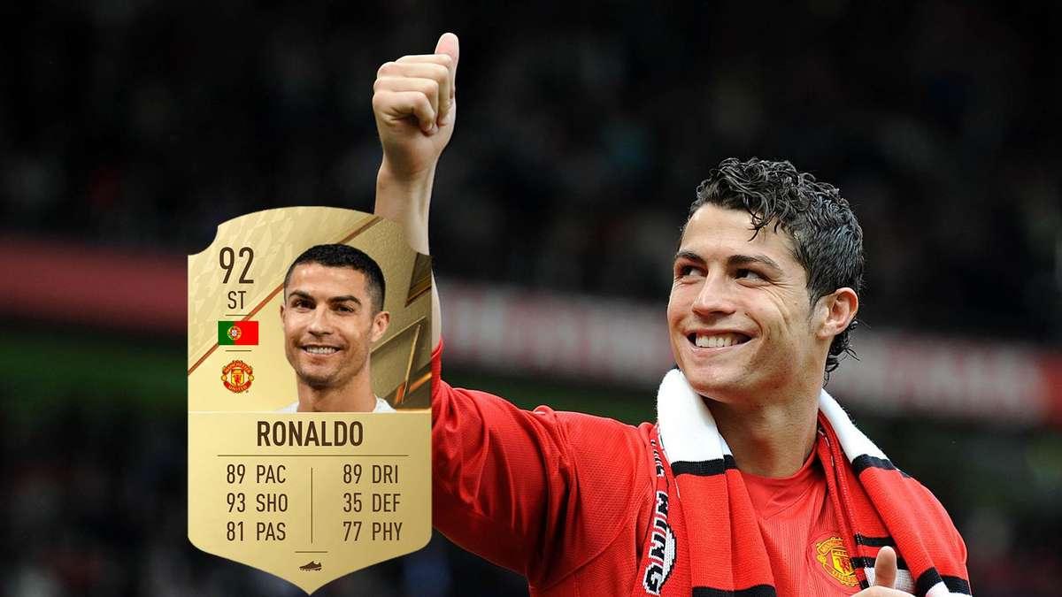 FIFA 22: Cristiano Ronaldo zurück – So könnte Manchester in FUT aussehen